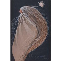 Frank Howell, acrylic on canvas