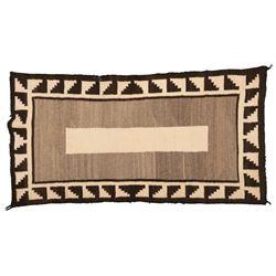 """Navajo Saddle Blanket, 2'7"""" x 4'11"""""""