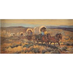 Sheryl Bodily, two oilsTony Sandoval, oil on canvasboard