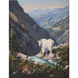 Elmer Sprunger, oil on canvasLeslie Hamilton Peters, oil on canvasboard