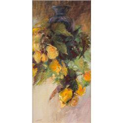 Susan Blackwood, three oils