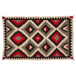 "Navajo Rug, 7'1"" x 4'6"""