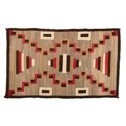 "Navajo Rug, 3'5"" x 4'10"""