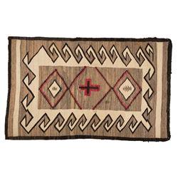"Navajo Rug, 6'4"" x 4'"