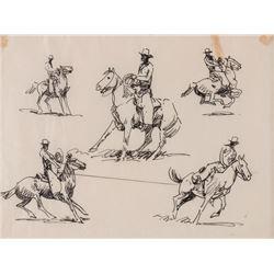 Edward Borein, two works