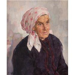 Walter Ufer, oil on canvas