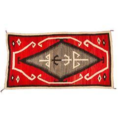 "Navajo Rug, 7'3"" x 4'3"""