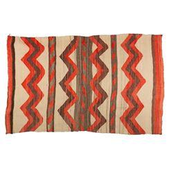 """Navajo Blanket, 7' x 4'3"""""""