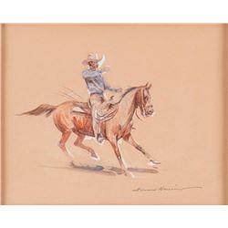 Edward Borein, watercolor