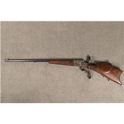 German Schuetzen Rifle