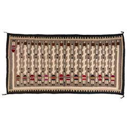 "Navajo Rug, 4'1"" x 7'11"""