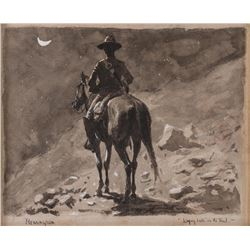Frederic Remington, watercolor