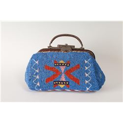 """Sioux Beaded Doctor's Bag, 12"""" long"""