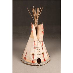 Blackfeet Toy Teepee