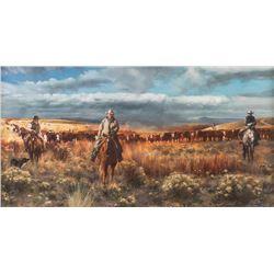 Valeriy Kagounkin, oil on canvas