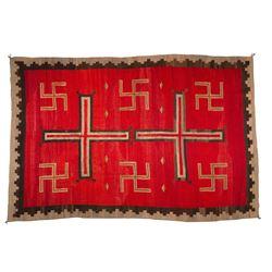 "Navajo Rug, 8'11"" x 5'11"""