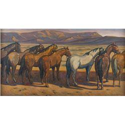 Howard Post, oil on canvas