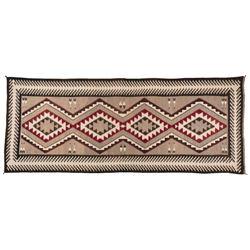 "Navajo Rug, 14' x 5'8"""