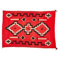 "Navajo Rug, 5'10"" x 4'"