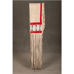 "Sioux Beaded Saddle Drape, 12"" wide x 113"" long"