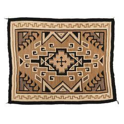 "Navajo Rug, 5'3"" x 4'2"""
