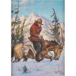 Howard Hastings, oil on canvas