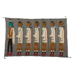 "Navajo Rug, 2'1"" x 3'5"""