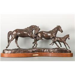 J.C. Dye, bronze