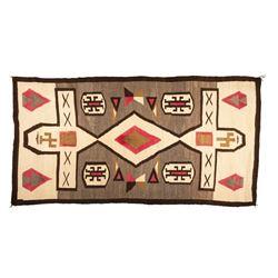 "Navajo Rug, 7'5"" x 3'10"""