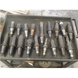 CAT45 Misc End Mill Holders, 18 Total