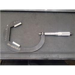 """Sundstrand V-Anvil Micrometer 3 - 4.5"""", No P/N"""