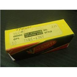 New Valenite Carbide Inserts, P/N: TNMC-43NV