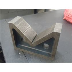 """Eclipse Steel V-Block, Overall: 8.5"""" x 3"""" x 6"""""""