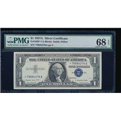 1957A $1 Silver Certificate PMG 68EPQ