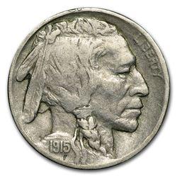 1915-D Buffalo Nickel Coin