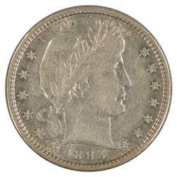 1893-S Barber Quarter Coin