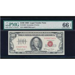 1966 $100 Legal Tender Note PMG 66EPQ