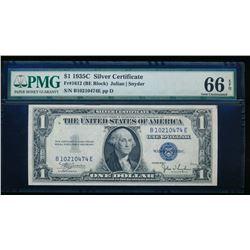 1935C $1 Silver Certificate PMG 66EPQ