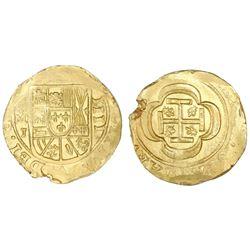 Mexico City, Mexico, cob 4 escudos, (1714)J, ex-1715 Fleet.