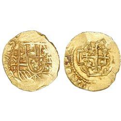 Mexico City, Mexico, cob 1 escudo, 1713J, mintmark oM, NGC MS 63, ex-1715 Fleet Finest NGC