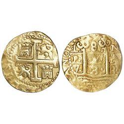 Lima, Peru, cob 8 escudos, 1733N.