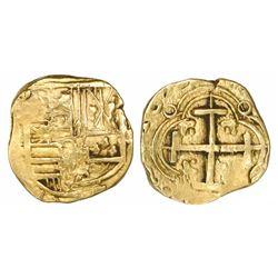 Bogota, Colombia, cob 2 escudos, (1)679(G or P), very rare.