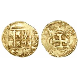 Bogota, Colombia, cob 2 escudos, 1742(M).