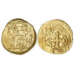 Bogota, Colombia, cob 2 escudos, 1747(S), rare.