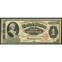 USA (Washington, D.C.), U.S. Treasury, $1, Rosencrans-Hyatt, series of 1886, serial B16407726, small
