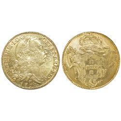 Brazil (Rio mint), 6400 reis, Jose I, 1752-R.