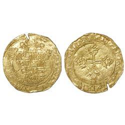 Barcelona, Spain, ducado, Charles I (Emperor Charles V), legend QVINTVS, rare.