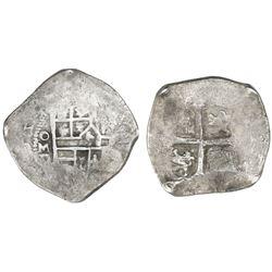 Mexico City, Mexico, cob 4 reales, (16)23D, rare.