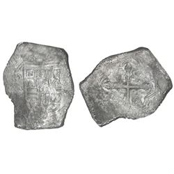 Mexico City, Mexico, cob 8 reales, (16)40/39P.