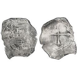 Mexico City, Mexico, cob 8 reales, 1640/39(P).